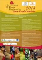 APPUNTAMENTO conferenza stampa presentazione II Festa Regionale Slow Food Calabria 2013