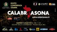 CONFERENZA STAMPA  CALABRIASONA Eventi musicali e festival nelle maggiori Piazze Calabresi e oltre i confini regionali