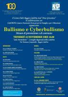 """Convegno dal titolo """"Bullismo e Cyberbullismo. Misure di prevenzione e di contrasto"""""""