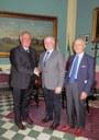 Il nuovo dirigente del Compartimento Calabria della Polizia ferroviaria in visita alla Provincia